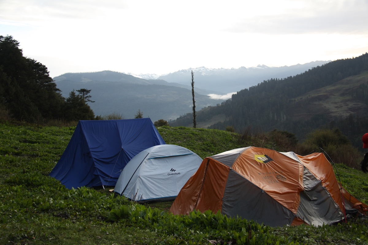 Mochileiros no Butão
